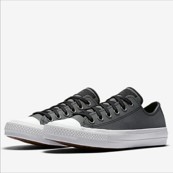 CONVERSE All Star Leather Lunarlon Low Top Sneaker